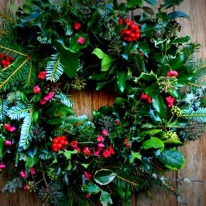 Tipico decoro natalizio