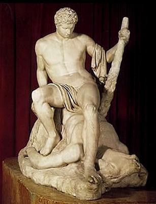 Teseo sul minotauro (1781 - 1783); Antonio Canova