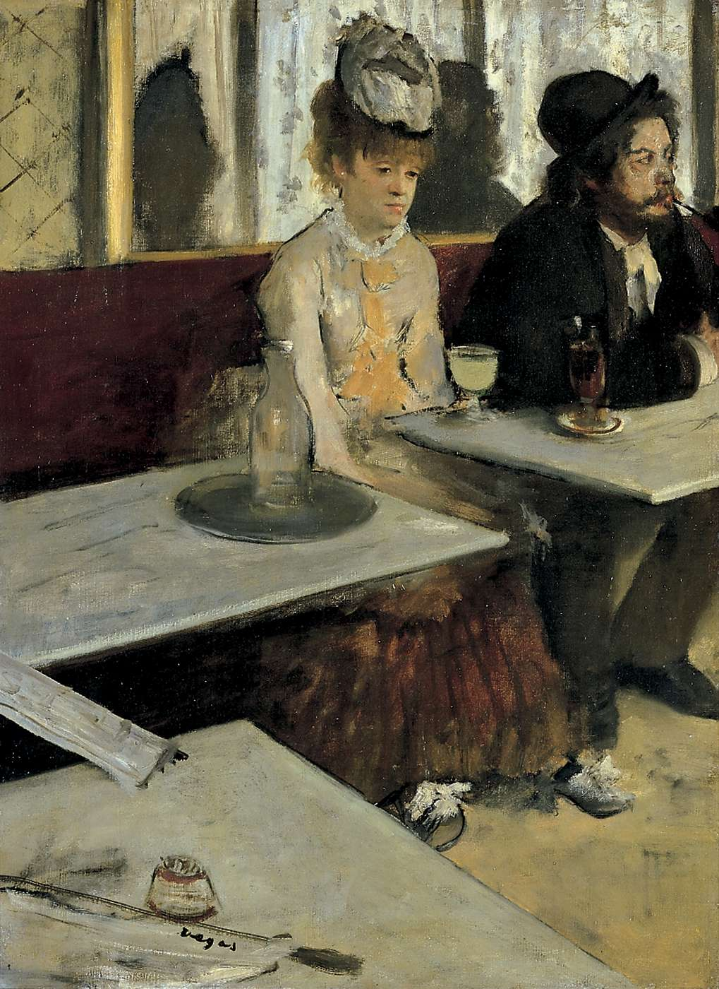L'Absinthe (1876), di Edgar Degas