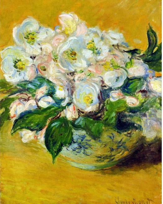 Christmas roses Claude Monet