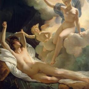 Morfeo e Iris (Morphée et Iris); Pierre-Narcisse Guérin ( Parigi, 1774 – Roma, 1833)