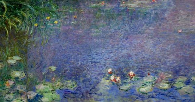 Ninfee, Realizzato tra il 1914 ed il 1918. Esposto presso il Musée de l'Orangerie a Parigi