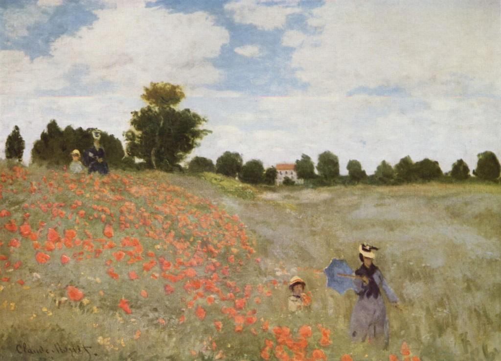 Claude_Monet campo di papaveri
