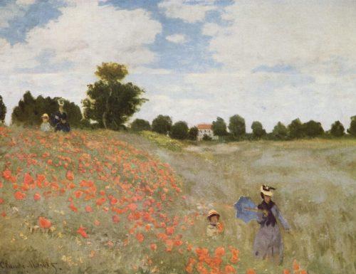 I Papaveri Claude Monet