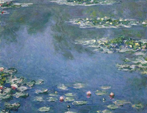 Le ninfee Claude Monet