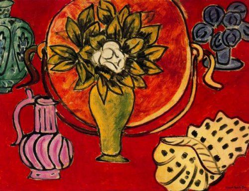 Still life with magnolia Henri Matisse