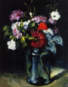Flowers in a Vase, Paul Cézanne 1873; Olio su tela