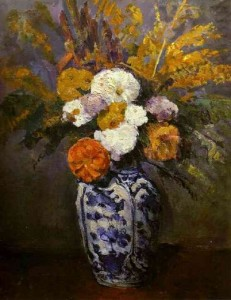 Dahlias, Paul Cezanne