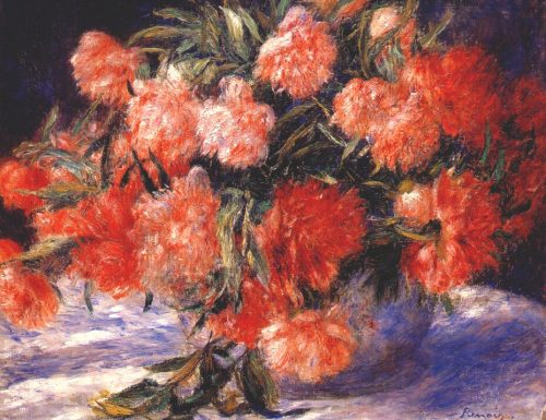 Peonies Pierre August Renoir