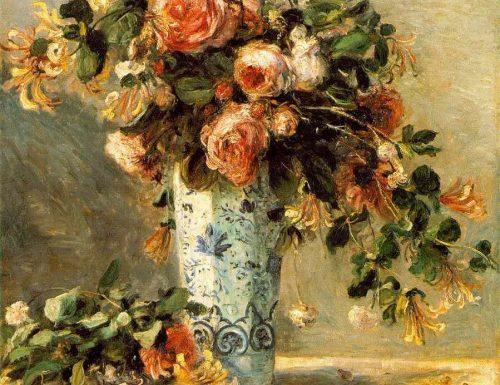 Rose Pierre August Renoir