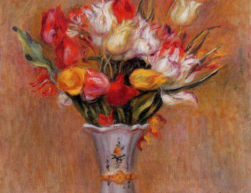 Tulips Pierre August Renoir