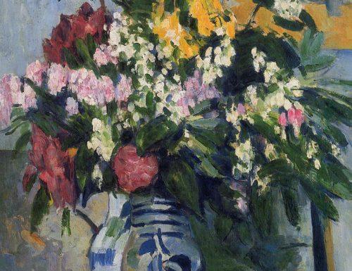 Flowers in a Vase Paul Cézanne