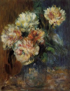 Vase of Peonies, Pierre August Renoir