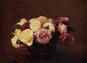 Roses - Henri Fantin Latour