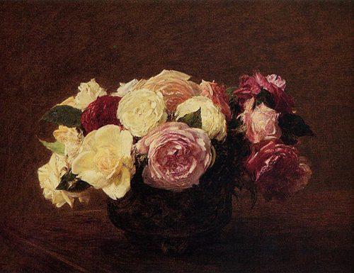 Rose di Henri Fantin Latour