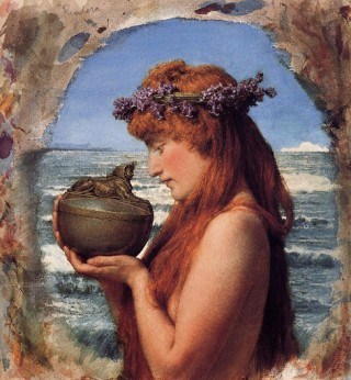 Pandora (1881); Sir Lawrence Alma-Tadema (1836-1912)