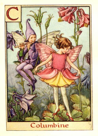 Fate dei fiori: Fata dell'aquilegia