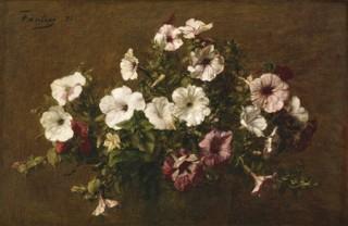 Petunias, Henri Fantin Latour