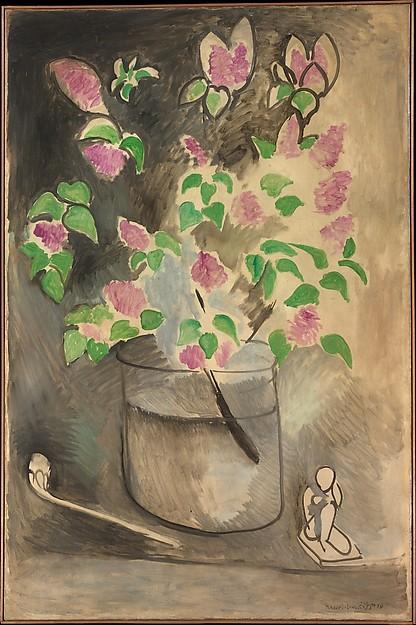 Lillà (Lilacs), Henri Matisse; Olio su tela (146.1 x 96.5 cm)